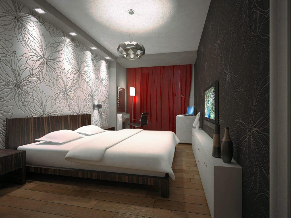 Как продумать дизайн узкой спальни?