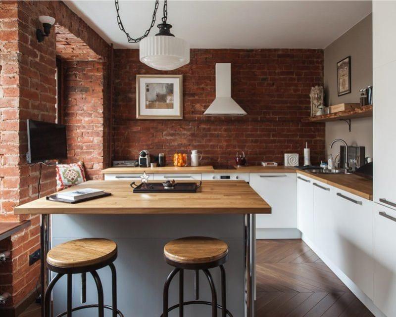 кухня в стиле лофт 54 фото кухонный гарнитур дизайн для