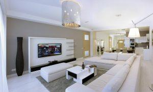 Современный минимализм в оформлении интерьера квартиры