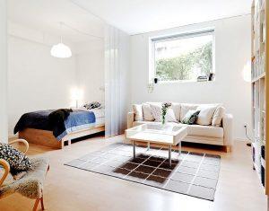 Виды перегородок для зонирования пространства в комнате