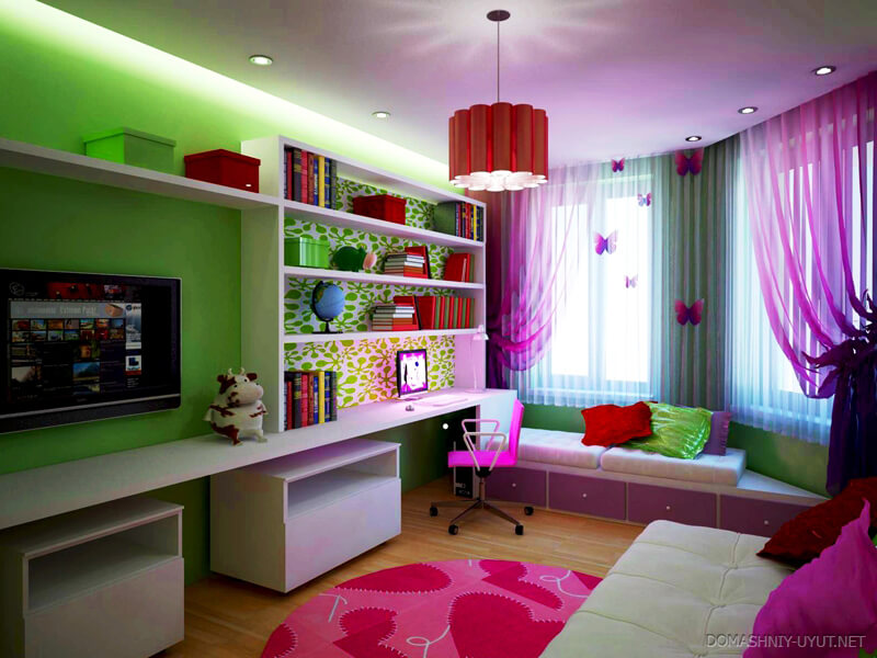 Какой лучше сделать потолок в детской комнате?