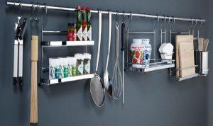 Какие бывают рейлинги для кухни?