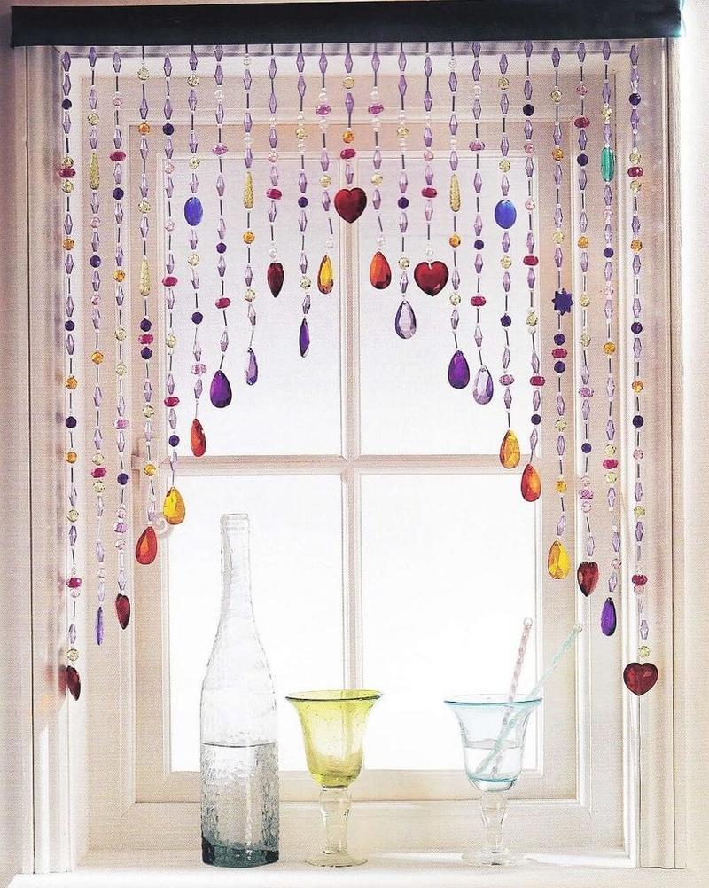Чем хороши шторы из бусин
