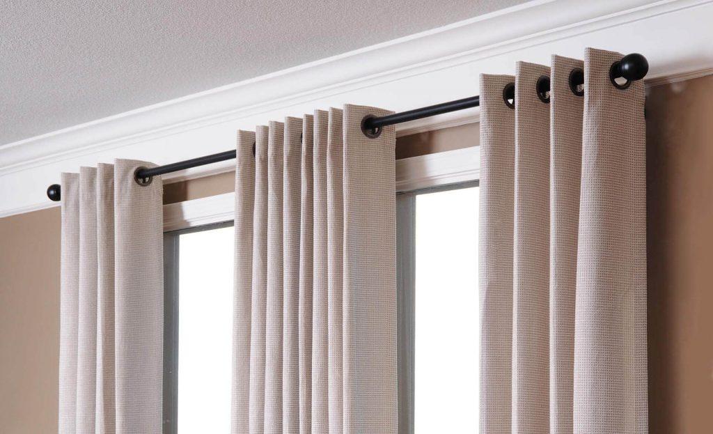 Как сделать своими руками шторы на люверсах