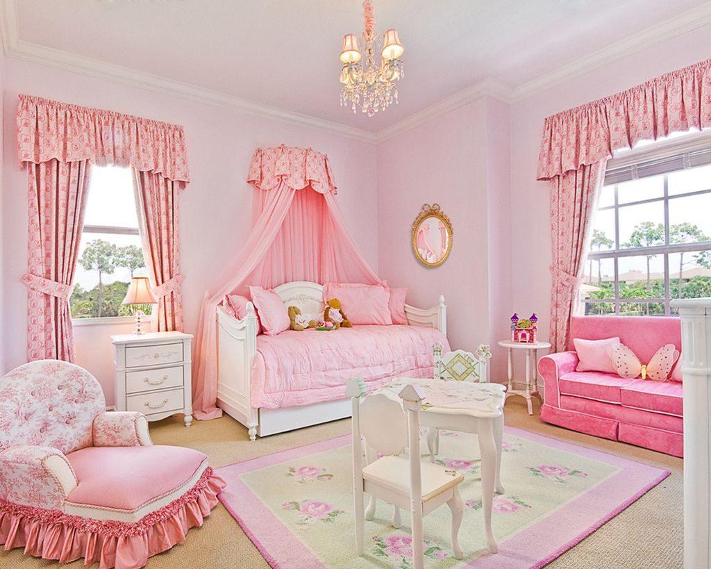 Как выбрать шторы в детскую комнату для девочки