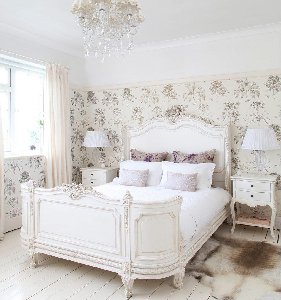 Оформление спальни в стиле прованс